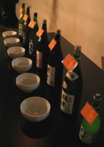 日本を感じる & Sake