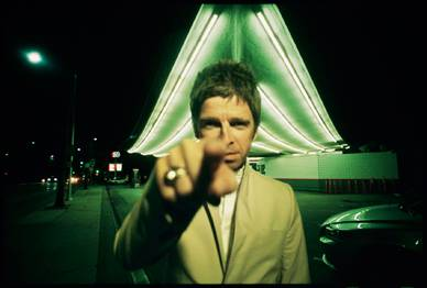 Lawrence Watson photographs Noel Gallagher