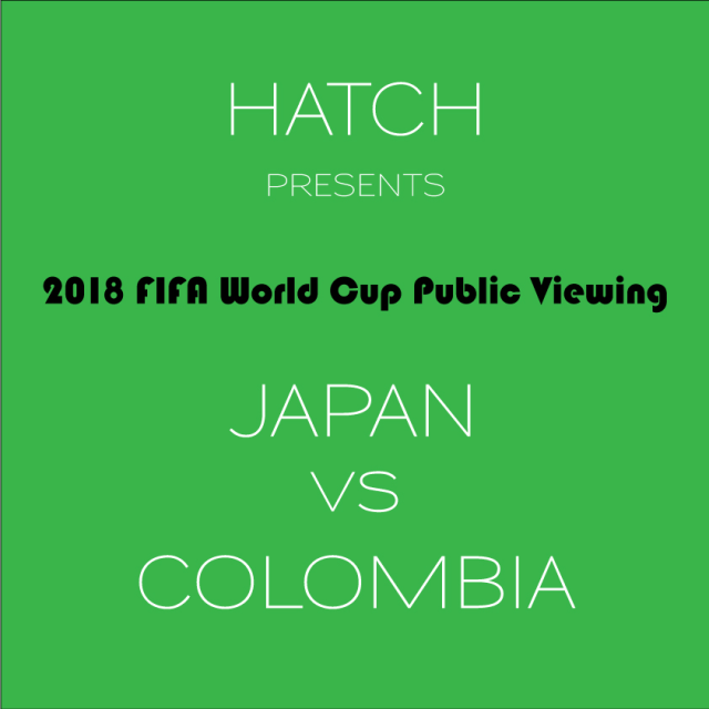 Japan vs Colombia