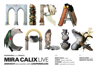 "PHASE12 ""MIRA CALIX LIVE"""