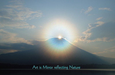 Art is Mirror reflecting Nature