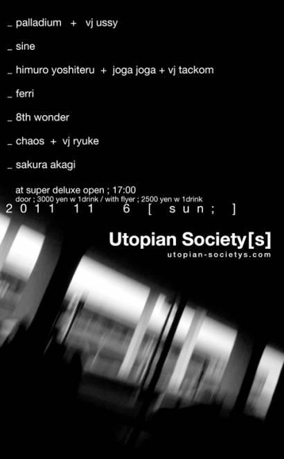 UTOPIAN SOCIETY[S]