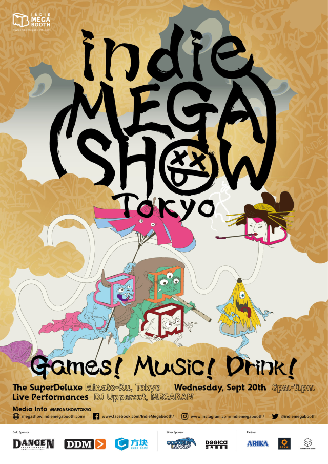 indie MEGASHOW Tokyo