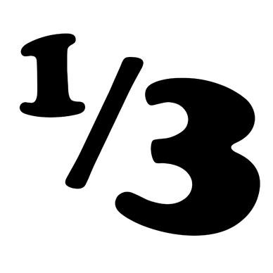 1/3 DELUXE BAR