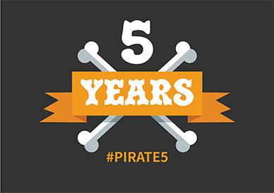 Pirates 5!